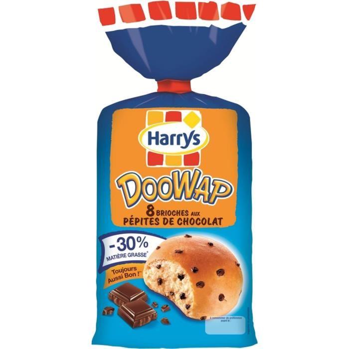 Doowap aux pépites de chocolat noir, Harry's (x 8, 330 g)