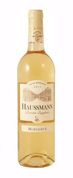 Bordeaux moelleux Domaine Haussmann 2018 (75 cl)