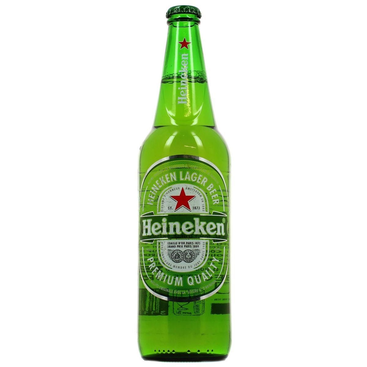 Heineken 5° en bouteille (65 cl)
