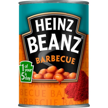 Baked beans barbecue, Heinz (390 g)
