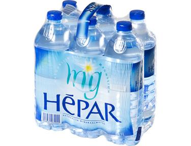 Pack d'Hépar (6 x 1 L)