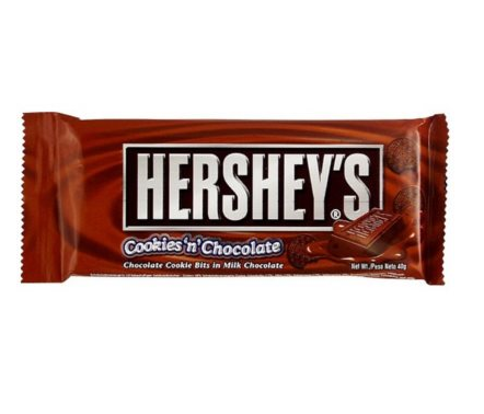 Barre chocolatée cookies'n chocolate, Hershey's (43 g)