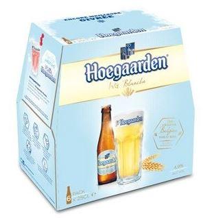 Pack de Hoegaarden (6 x25 cl)