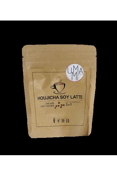 Hojicha Latte instantané au lait de soja (100 g)