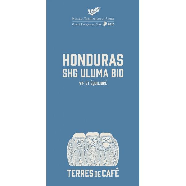 Café moulu Honduras Uluma Bio, Terres de Café (250 g)