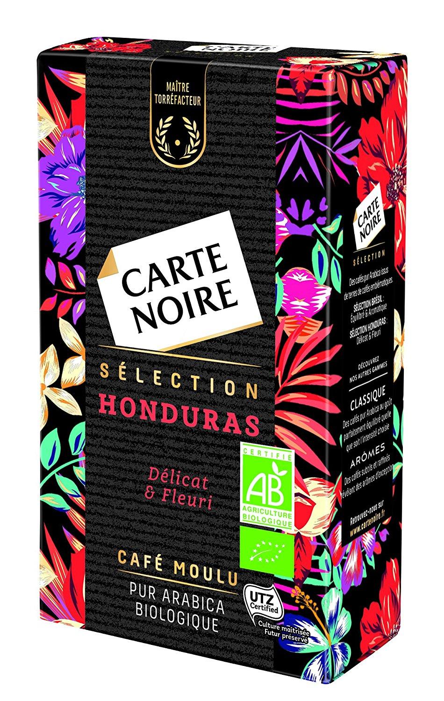 Café moulu sélection Honduras BIO, Carte Noire (250 g)