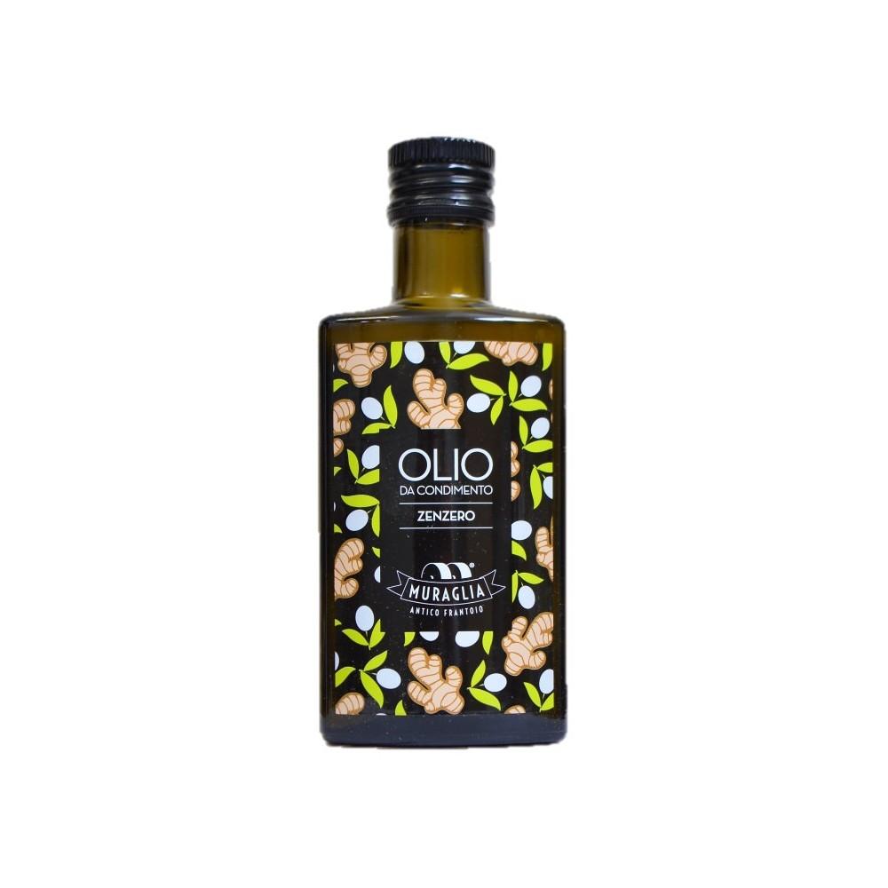 Huile d'olive extra vierge au gingembre, Muraglia (20 cl)
