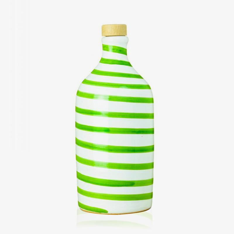 "Huile d'olive extra vierge ""rayée vert"", Muraglia (25 cl)"