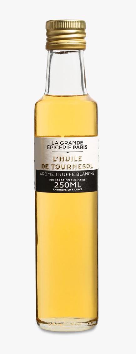 Huile de tournesol à la truffe blanche, La Grande Epicerie de Paris (25 cl)