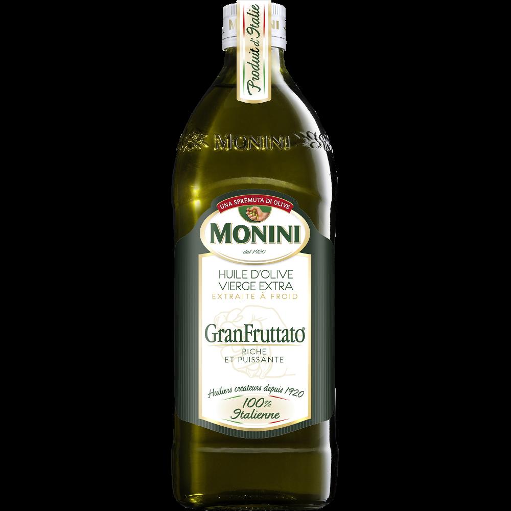 Huile d'olive vierge extra granfruttato, Monini (75 cl)