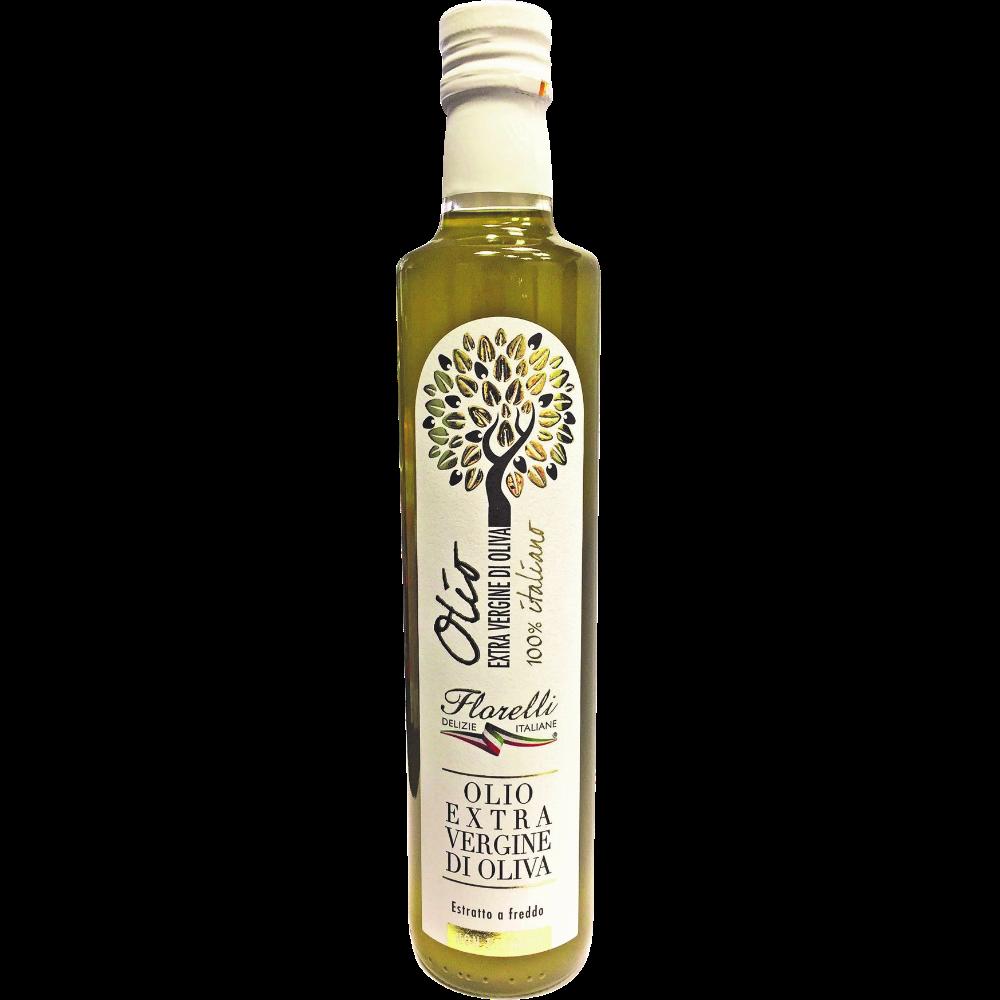 Huile d'olive vierge extra non filtrée Florelli (50 cl)