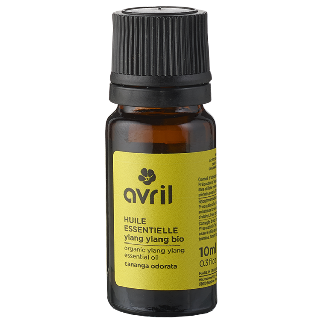 Huile essentielle d'ylang ylang BIO, Avril (10 ml)