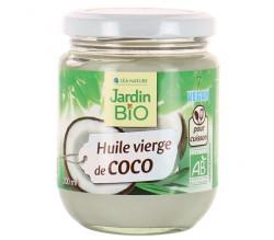 Huile de coco vierge BIO, Jardin Bio (200 ml)