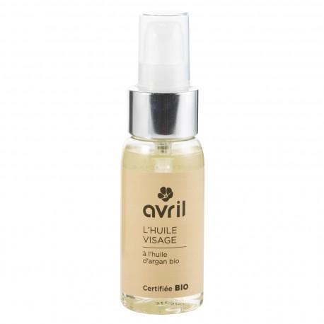 Huile visage à l'huile d'argan certifiée BIO, Avril (50 ml)