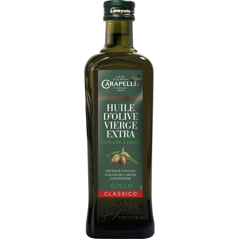Huile d'olive vierge classique, Carapelli (75 cl)