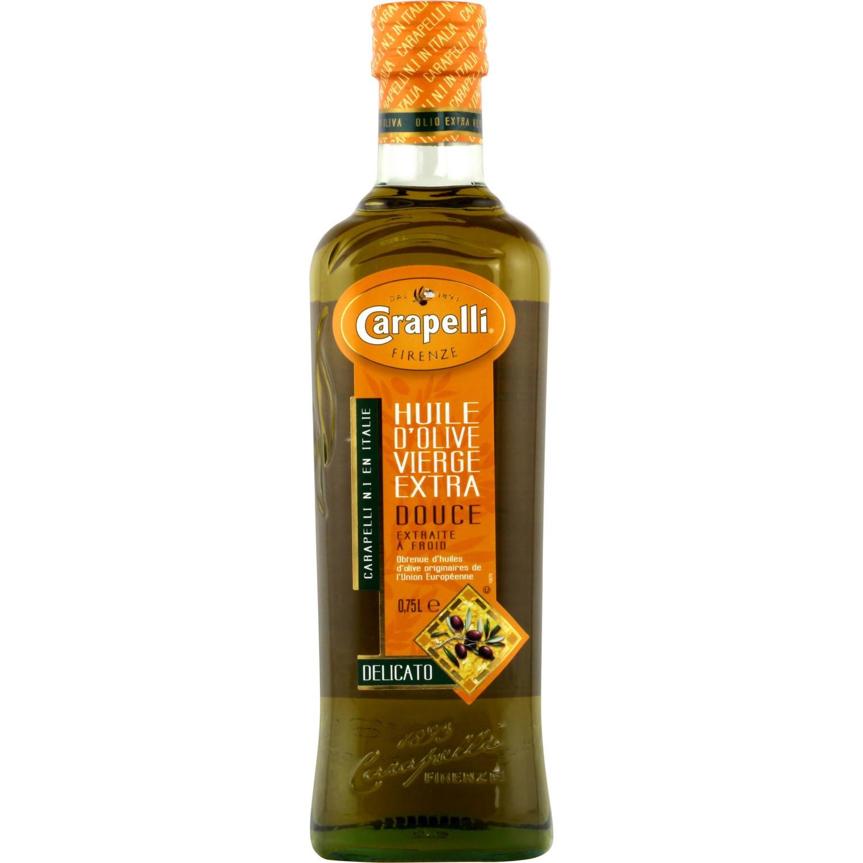 Huile d'olive vierge extra fruitée, Carapelli (75 cl)