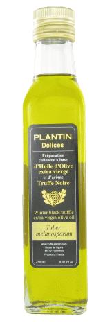 Huile d'olive à la truffe noire - Plantin (25 cl)