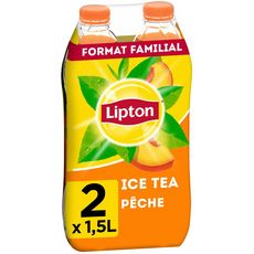 Ice Tea pêche, Lipton LOT DE 2 (2 x 1.5 L)