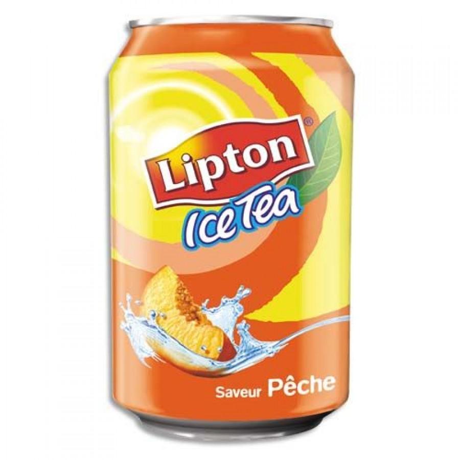 Ice tea pêche Lipton (33 cl)