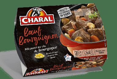 Bourguignon cuit, Charal (2 x 150 g)