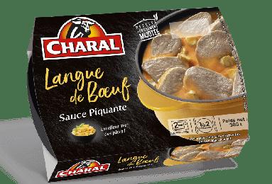 Langue de boeuf Sauce Piquante, Charal (2 x 150 g)