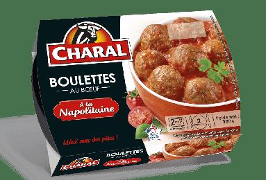 Boulettes au boeuf à la Napolitaine, Charal (300 g)