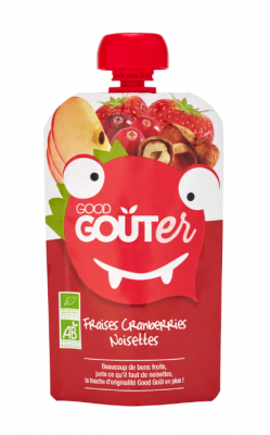 Good Goûter Fraise Cranberries Noisettes BIO, Good Goût (120 g)