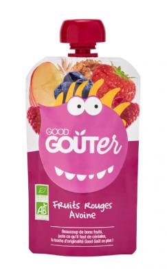 Good Goûter Fruits rouges Avoine BIO, Good Goût (120 g) - dès 36 mois
