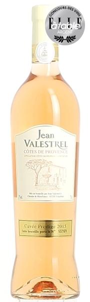 Côtes de Provence Rosé Jean Valestrel 2015 (75 cl)