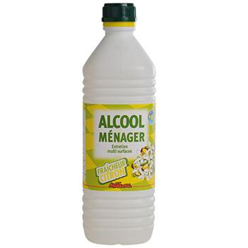 Alcool ménager citron (1 L)