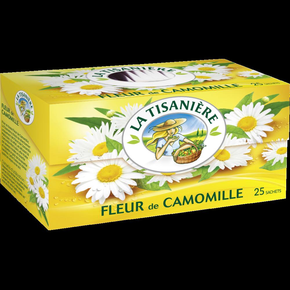 Infusions Fleurs de Camomille, La Tisanière (x 25)