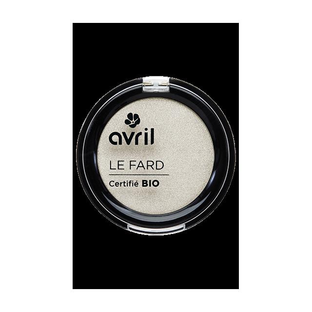 Fard à paupières ivoire nacré certifié BIO, Avril (2,5 g)