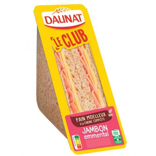 Sandwich triangle jambon emmental, Daunat  (160 g)