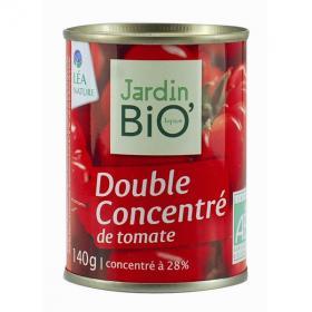 Double concentré de tomate, Jardin Bio (140 g)