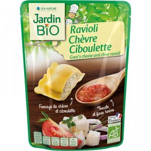 Ravioli Chèvre Ciboulette BIO, Jardin bio (250 g)
