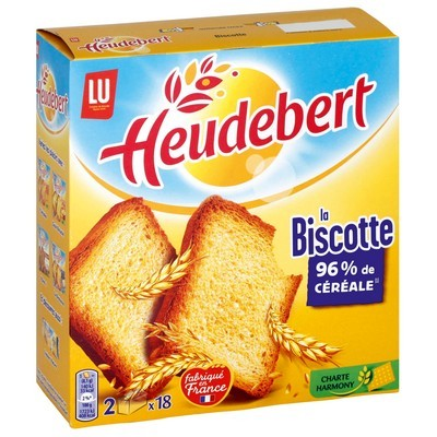 Biscottes nature, Heudebert (290 g)