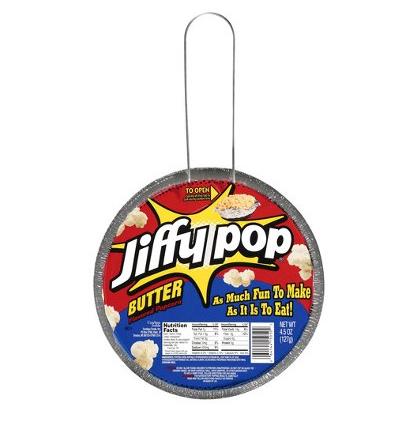 Poêle de pop corn au beurre, Jiffy Pop (127 g)