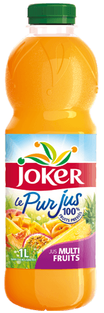 Pur jus multifruits, Joker (1 L)