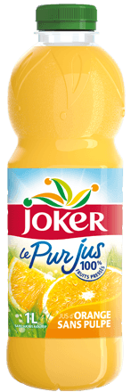 Pur jus d'orange sans pulpe, Joker (1 L)