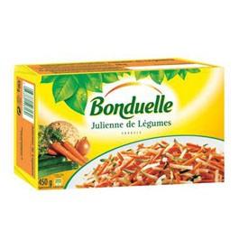 Julienne de légumes, Bonduelle surgelé (450 g)