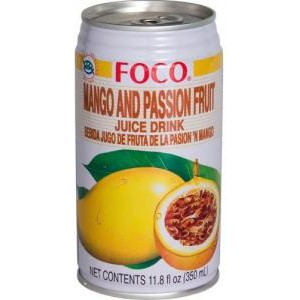 Jus de mangue et de passion Foco (35 cl)