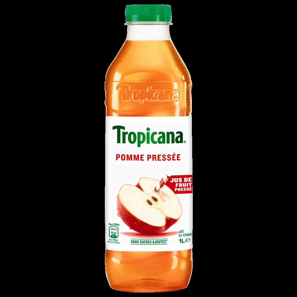 Jus de pomme pressée, Tropicana (1 L)