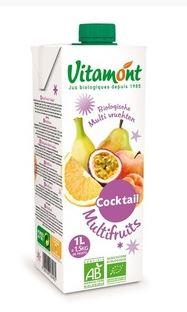 Jus multifruits BIO, Vitamont (1 L)
