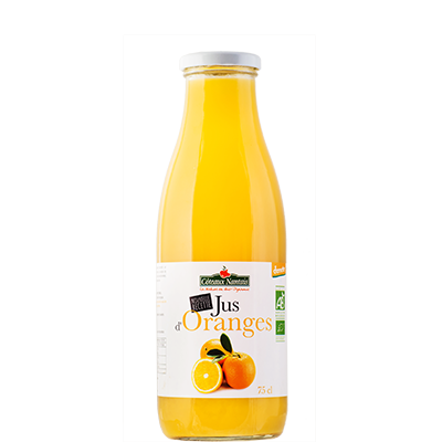 Jus d'orange demeter BIO, Coteaux Nantais (75 cl)