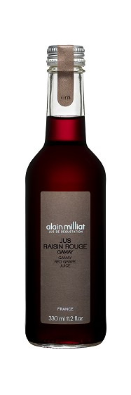 Jus Raisin Rouge Gamay, Alain Milliat (33 cl)
