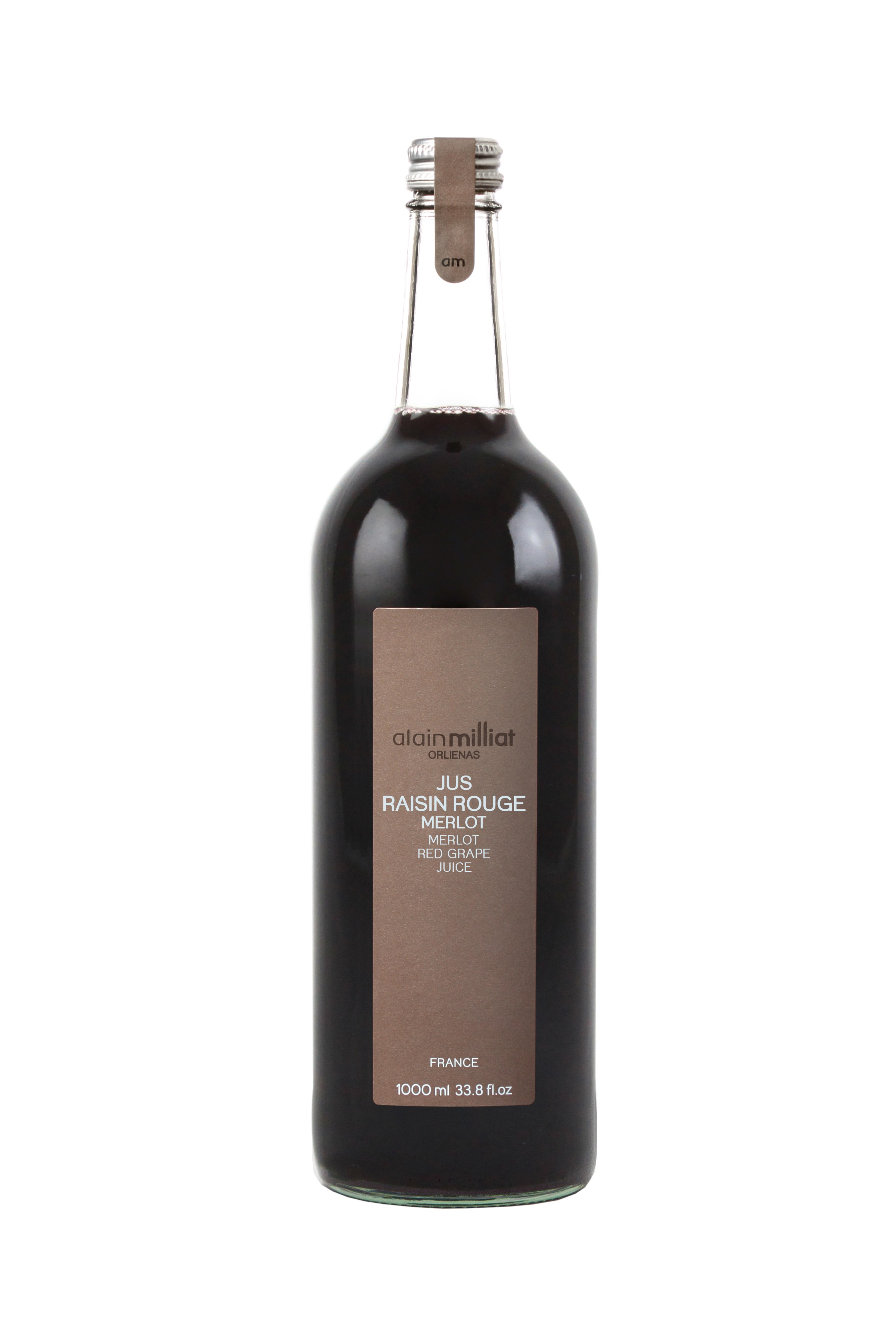 Jus Raisin Rouge Merlot, Alain Milliat (1 L)