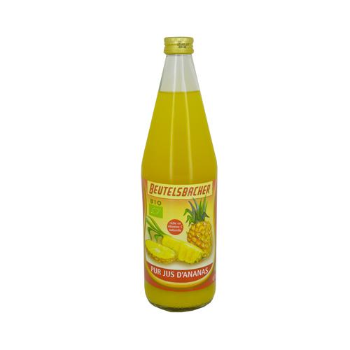Jus d'ananas Bio, Beutelsbacher (75 cl)