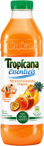 Jus multivitaminé, Tropicana (6 x 1 L)
