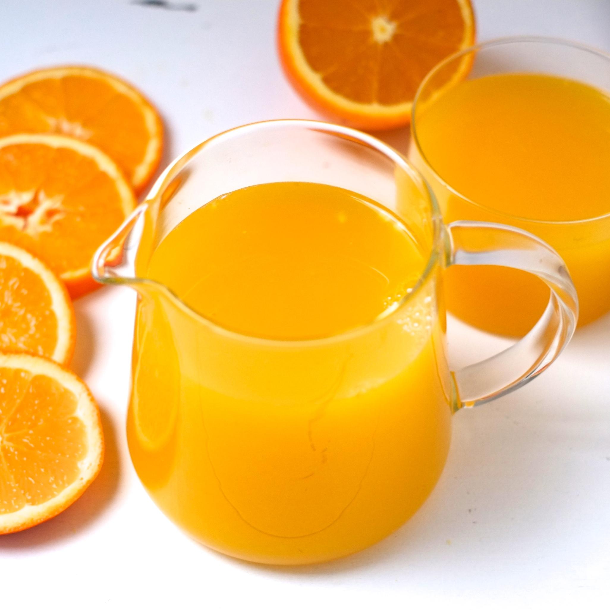 Jus d'orange pressé (1 bouteille d'1 Litre)