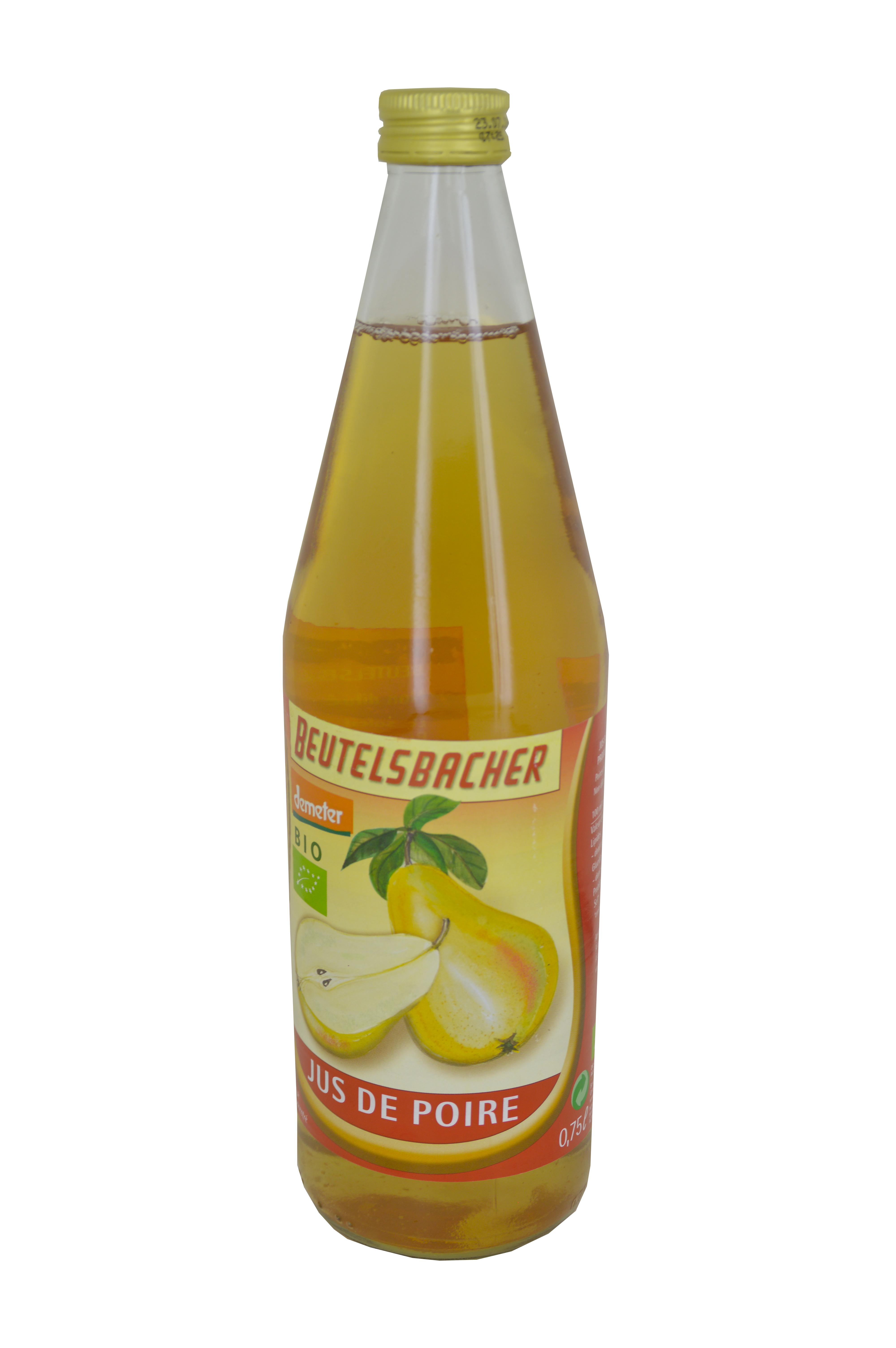 Jus de poire Bio, Beutelsbacher (75 cl)